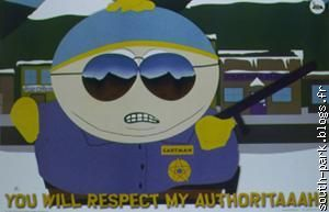 You will respect my authoritaaah !